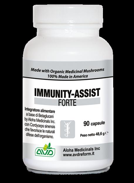 Picture of IMMUNITY ASSIST FORTE - supliment puternic pentru sistemul imunitar